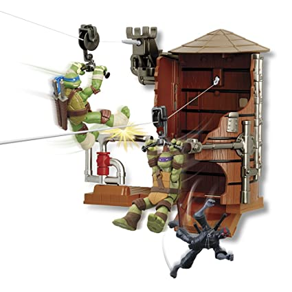 Amazon.com: Teenage Mutant Ninja Turtles - Playset Exhaust Z ...
