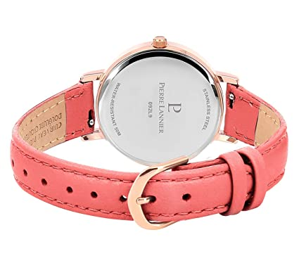 Amazon.com: Pierre Lannier Womens Analogue Quartz Watch ...