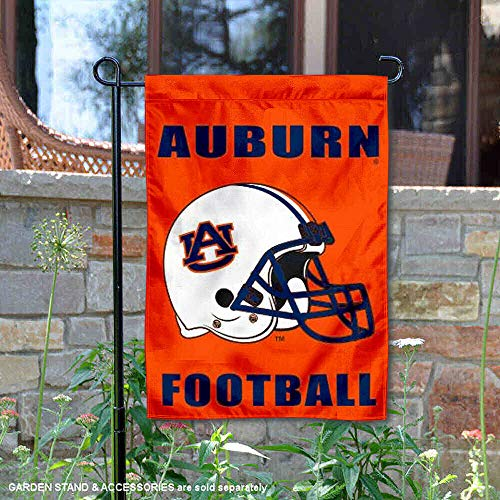 (College Flags and Banners Co. Auburn Tigers Football Helmet Garden Flag)