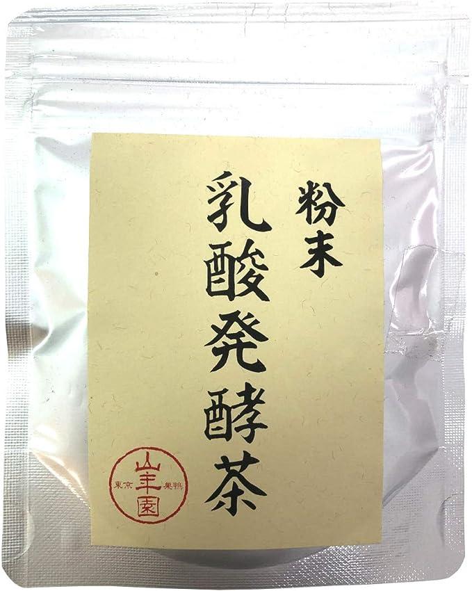 国産100% 静岡県掛川産 乳酸発酵茶 40g