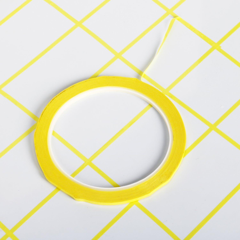 Cinta adhesiva se/ñalizaci/ón Negro//Amarillo 48 mm x66 metros