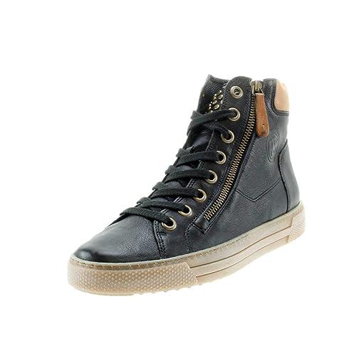 promo code 6780f 5edc1 Paul Green | High Top Sneaker | Schnürer - Schwarz, Farbe ...