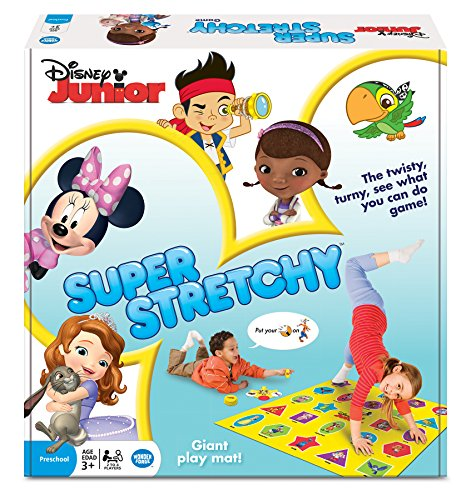 Disney Junior Super Stretchy Game (Twister Game Mat)