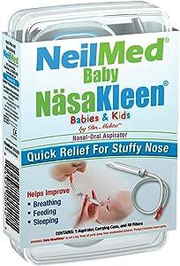 Baby NäsaKleen Nasal Aspirator - Baby Shower Gift and Registry Necessity