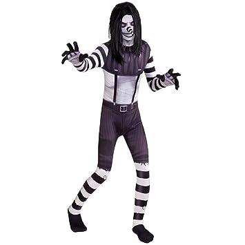 Morphsuits de Risa de Jack Scary Leyendas urbanas Halloween de los niños Disfraz - Pequeño (Edad 6-8)