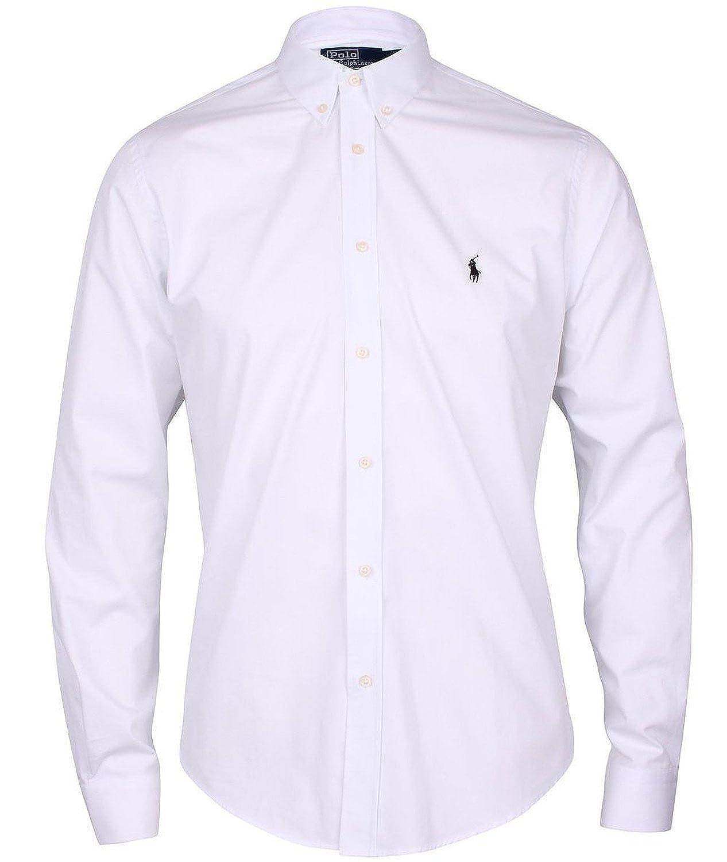 Ralph Lauren - Chemise RA9076955 blanche logo noir (XL): Amazon.fr:  Vêtements et accessoires