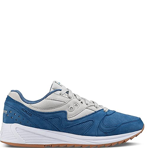 Zapatillas SAUCONY S70303-2 Grid 8000 Azul: Amazon.es: Zapatos y complementos