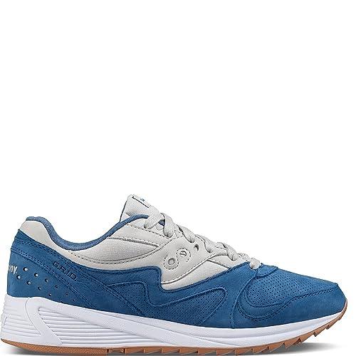 Zapatillas SAUCONY S70303-2 Grid 8000 Azul: Amazon.es: Zapatos y complementos