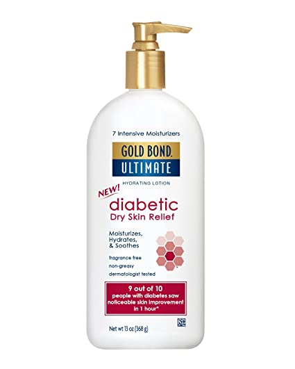 gold bond diabetic dry skin relief lotion