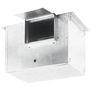 Broan HLB9 External In-Line Blower for Broan Range Hoods, Ventilation for Kitchen, Home, and Commercial Areas, 800 CFM