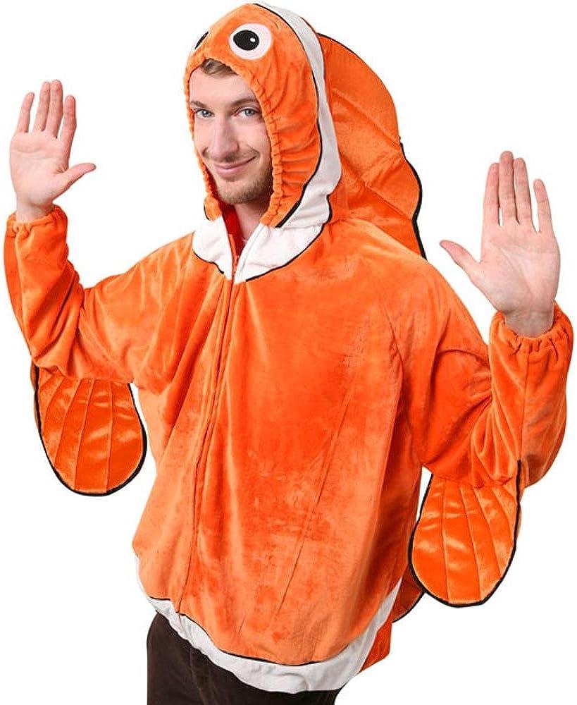 De Pez payaso adulto disfraz de Halloween (talla: 44): Amazon.es ...