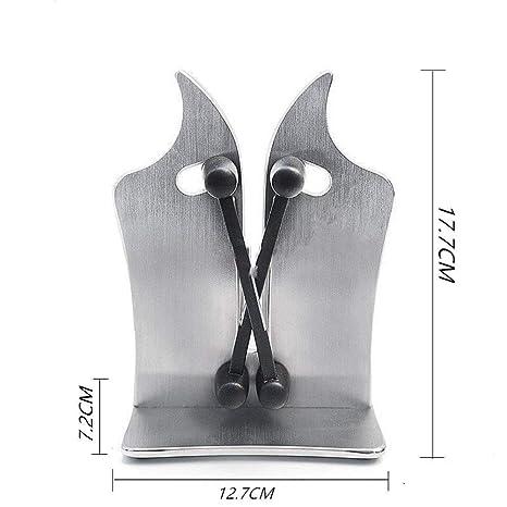 Great Houseware Messerschärfer für die Küche Wellenschliff, aus Wolframkarbid, Standardklingen