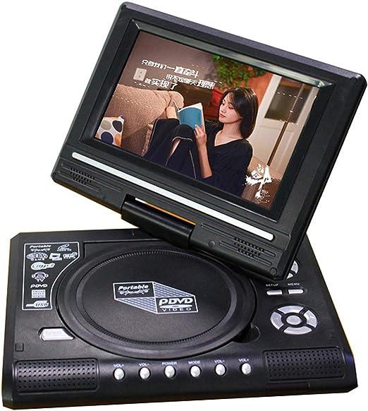 WWK EVD DVD Portátil De DVD, Diseño Versátil 7 Pulgadas con TV/FM/USB/Función De Juego Adecuado para La Familia Entretenimiento Y Aprendizaje,EU: Amazon.es: Hogar