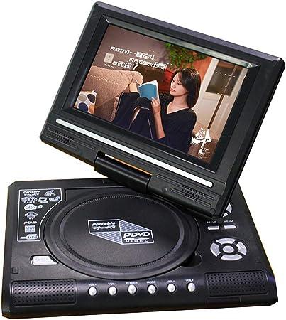 WWK EVD DVD Portátil De DVD, Diseño Versátil 7 Pulgadas con TV/FM/USB/Función De Juego Adecuado para La Familia Entretenimiento Y Aprendizaje,UK: Amazon.es: Hogar