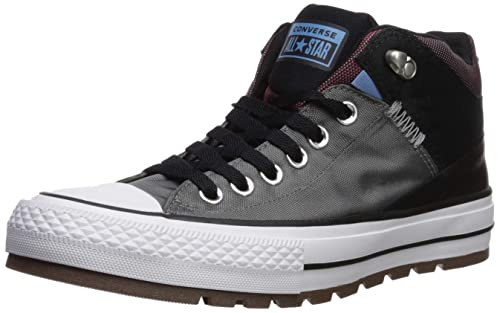 ba9c41ad331a Converse Unisex Adults  Chuck Taylor CTAS Street Boot Hi Low-Top Sneakers