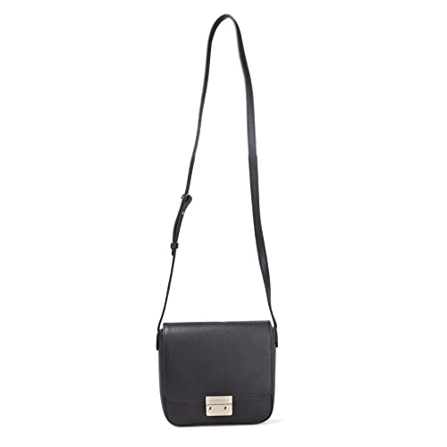 23d56fd5ba Emporio Armani Borsa Black Textured Cross-Body Bag Black Leather ...