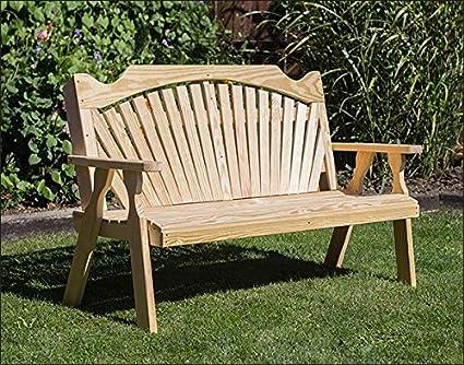 Magnificent Amazon Com Fifthroom Markets 53 Treated Pine Fanback Machost Co Dining Chair Design Ideas Machostcouk