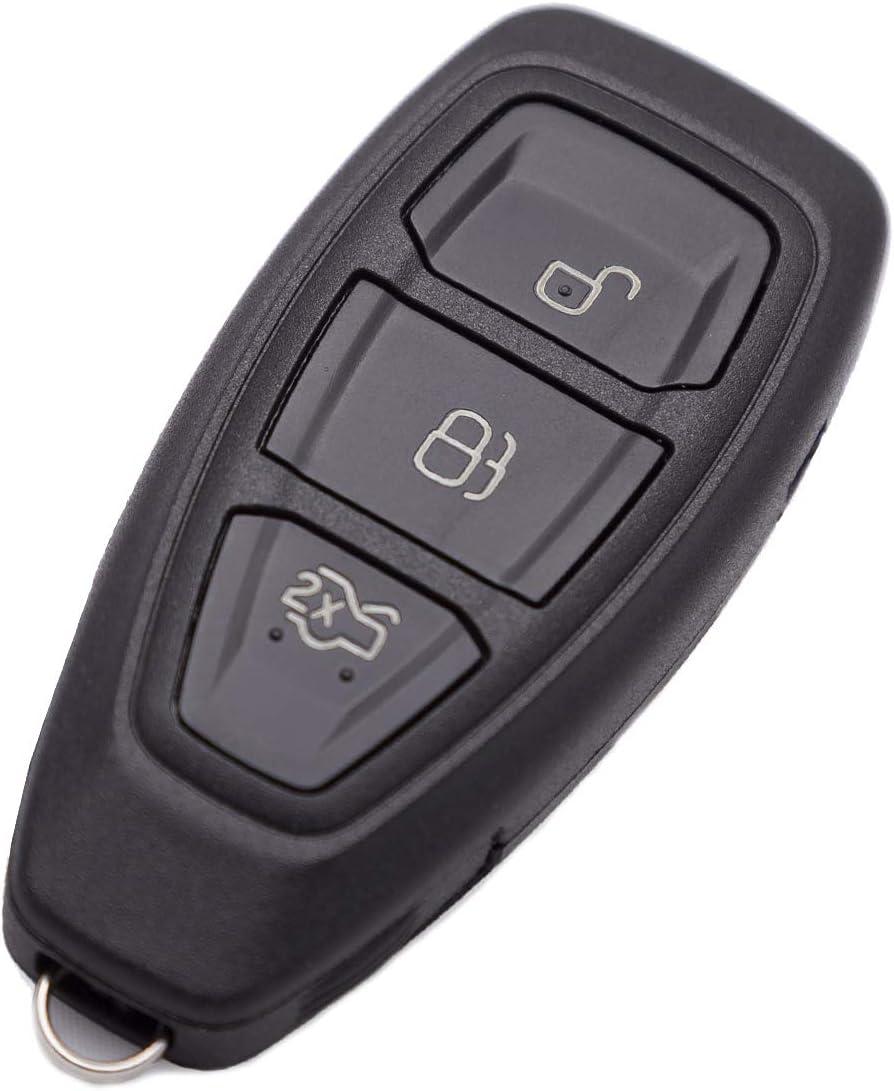 AKS Keys Compatible with Ford 2011-2019 Smart Key 3B FCC# KR55WK48801