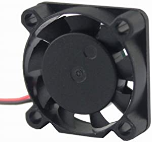 GDSTIME 25mm Fan, 25x25x7mm XH2.54mm 2PIN 12V DC Brushless Cooling Fan