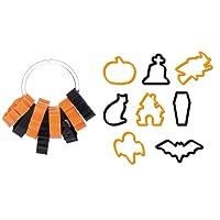Tescoma, formine tagliabiscotti Delicia per Halloween, 8pezzi, colori assortiti