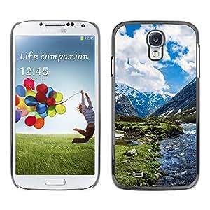 EJOY---Cubierta de la caja de protección la piel dura para el / Samsung Galaxy S4 / --Paisaje de la nieve de la montaña