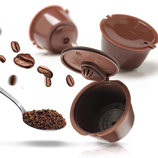 KOIYOI 2/3/6 Piezas/Paquete 3ro Cápsula de café Dolce Gusto ...
