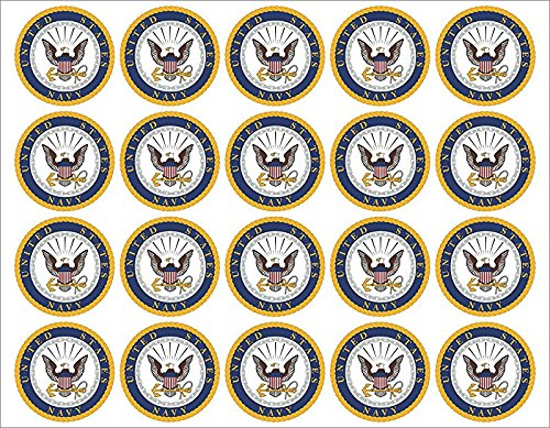 Navy Emblem 20x2