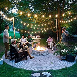 Brightech – Ambience PRO LED S14 1 Watt Bulb - 1 Watt – Use to Replace High-Heat, High-Cost incandescent bulbs in Outdoor String Lights – Edison-inspired Exposed Filaments Design- 15 Pack