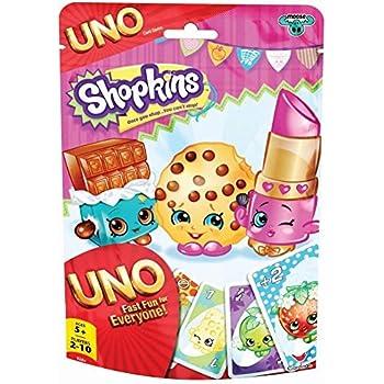 Shopkins Uno Foil Bag Card Game by Cardinal