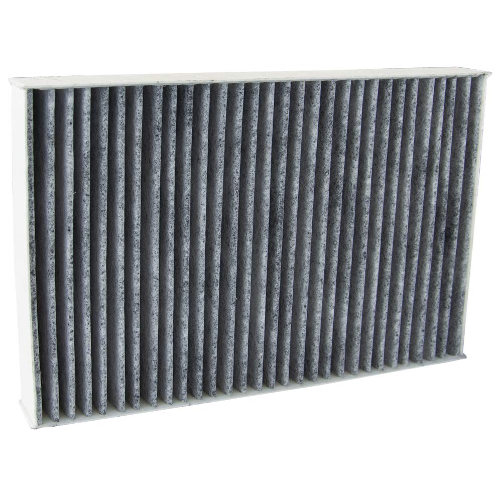Premium Replacement Fits Tesla S ECOGARD XC11582C Cabin Air Filter with Activated Carbon Odor Eliminator