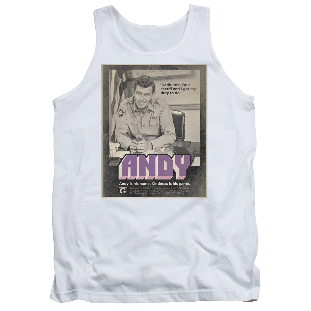 DressCode Andy Griffith Show Mens Andy Tank Top