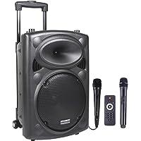 DYNASONIC - Dynapro 10 - Altavoz Inalámbrico Sistema Audio Profesional Megafonia Portátil | Lector USB Bluetooth Radio…