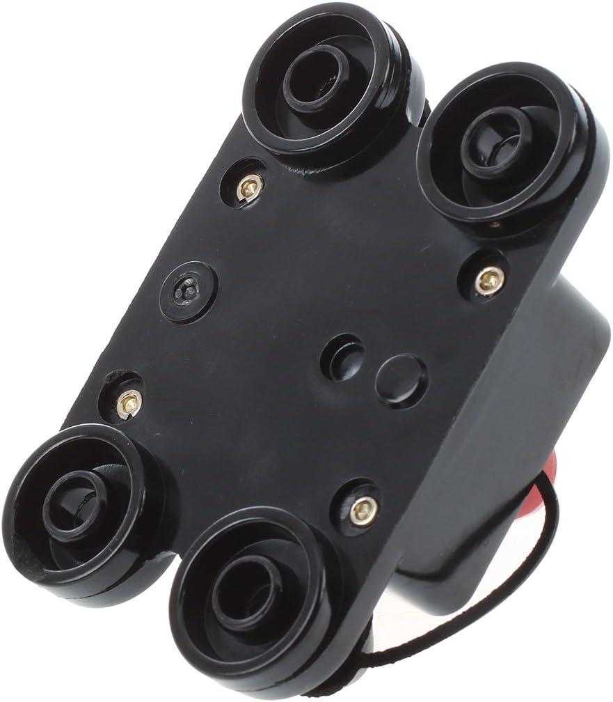 SODIAL 12-24V DC fusibile amplificatore dellinterruttore supporto 100A auto assicurazione kfz R
