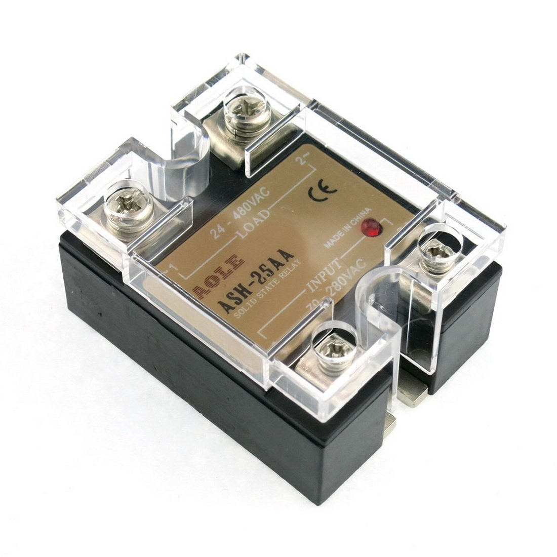 Werfamily Ssr Solid State Relay Ac 70 280v 24 480v Circuit Further Clock Pulse Generator Industrial Scientific