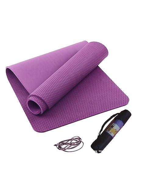 OIBHFO Home Manta Profesional de Yoga, colchoneta de ...