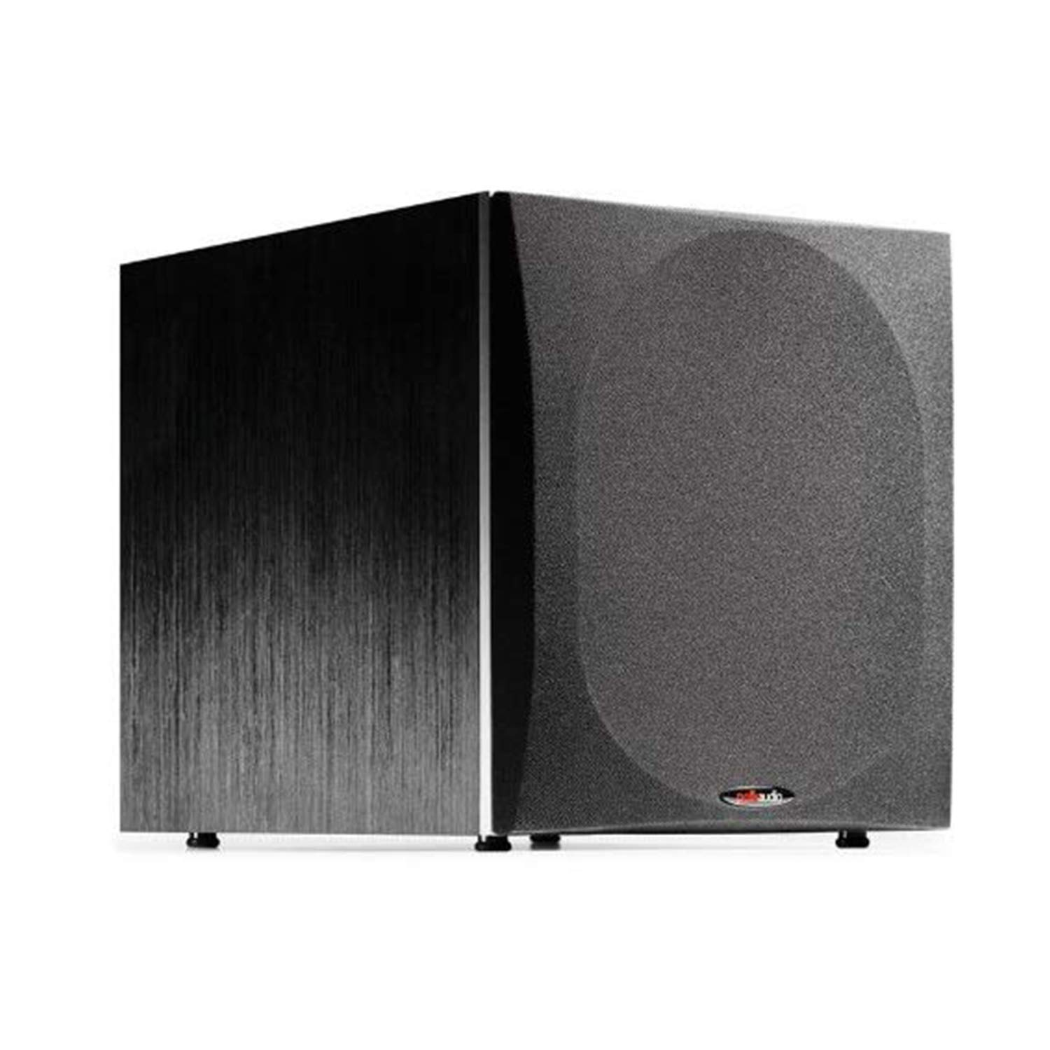 """Polk Audio PSW505 12"""" Powered Subwoofer - Deep Bass Impact & Distortion-Free Sound, Up to 460 Watts, Easy Integration with Home Theater Systems, BLACK"""