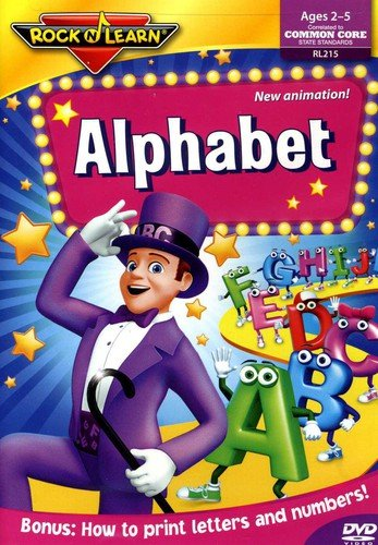 Alphabet DVD by Rock 'N Learn ()