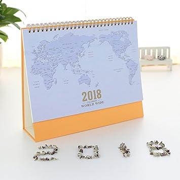 Caveen 2018 clear world map desk calendar family planner calendar caveen 2018 clear world map desk calendar family planner calendar memo pad diary calendar c gumiabroncs Gallery