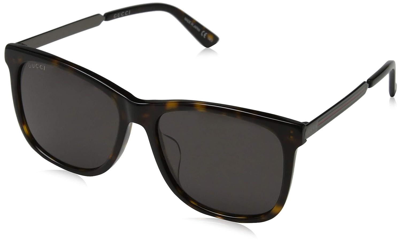 5b2c356883 Amazon.com  Gucci Men s Gg0078sk 56Mm Sunglasses  Clothing