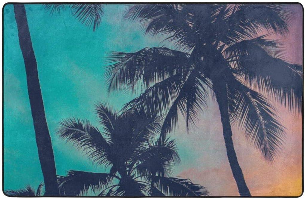 KATERN Alfombrilla baño,Alicia en el país de Las Maravillas Tamaño Adulto Alicia sentada con Cartas voladoras y Dibujos Animados a Cuadros Color de Rosa 75X45cm