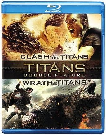 Titans Clash Of The Titans Wrath Of The Titans Double Feature