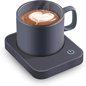VOBAGA Coffee Mug Warmer, Electric Coffee Warmer for Desk with Auto Shut Off, 3 Temperature Setting Smart Cup Warmer for Warming & Heating Coffee, Beverage, Milk, Tea and Hot Chocolate(No Cup)