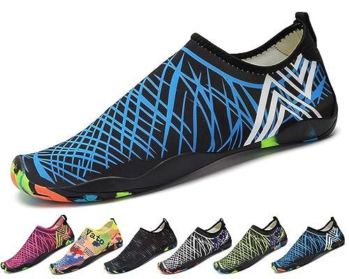 Zapatos de Agua Hombre Mujer Zapatillas Snorkel Buceo Surf ...