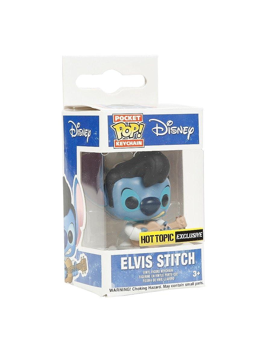 Amazon.com: Funko Disney Lilo & Stitch Pocket Pop! Elvis ...