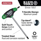 T27 Torx Hex Key with Journeyman T-Handle, 6-Inch