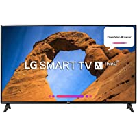 LG 108 cm (43 Inches) Full HD LED Smart TV 43LK5360PTA (Black) (2018 model)