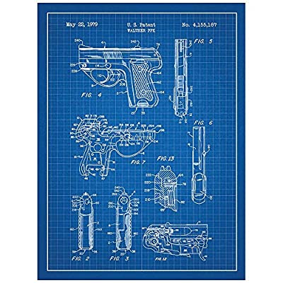 Amazon Inked And Screened Military And Weaponry Walther Ppk