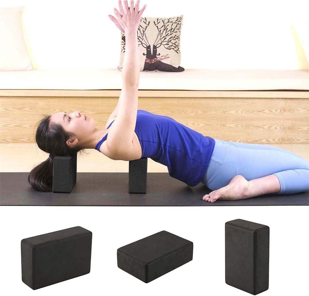 Ponis-Limos - 1 Piece Black Yoga Block Foam Brick Indoor ...