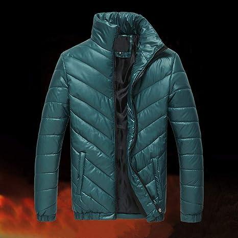 promo code 7238b 290db Sunnywill Cappotto da Uomo Inverno, Piumino Invernale ...