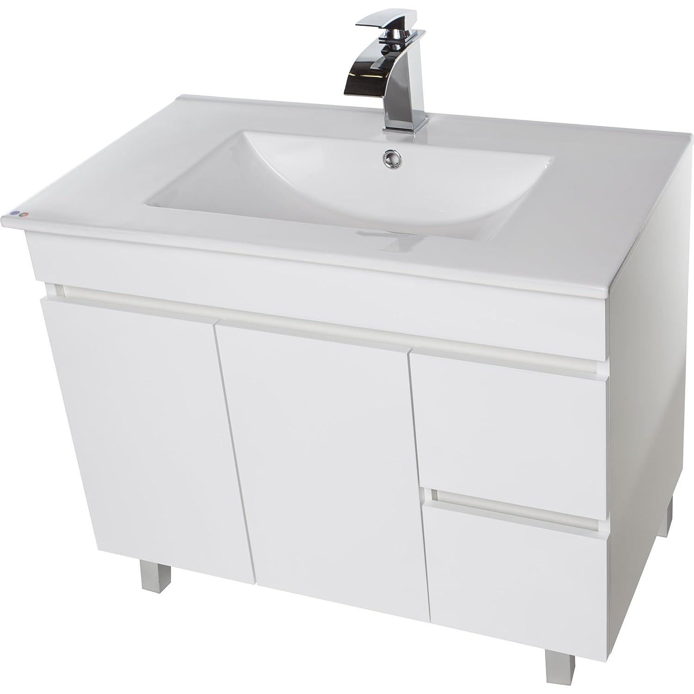 Amazoncom Zeus 40 Standing Bathroom Vanity Cabinet Set Bath